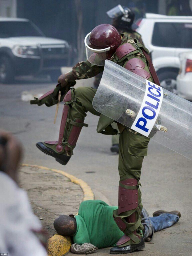 הפגנות אלימות בקניה (ניירובי)
