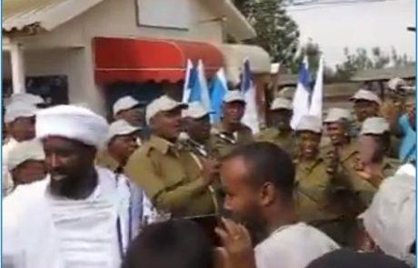 פוקרה: הקומנדו האתיופי מראה לכולם איך מרימים מורל לפני קרב